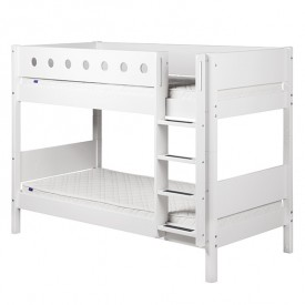 White Bunk Bed 90x200cm White Flexa