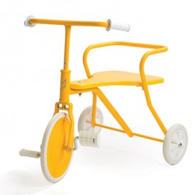 Metal Tricycle - Sunny Yellow Limited Edition