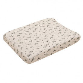 Muslin Changing Mattress Cover - Bluebell