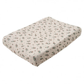 Muslin Changing Mattress Cover - Clover