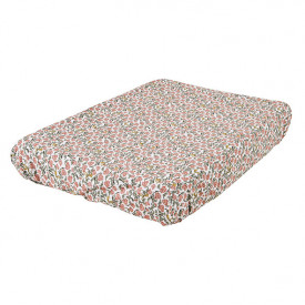 Changing Mattress Cover - Floral Vine