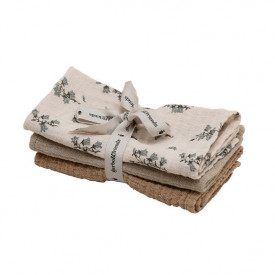 Set of 3 Muslin Cloth - Bluebell