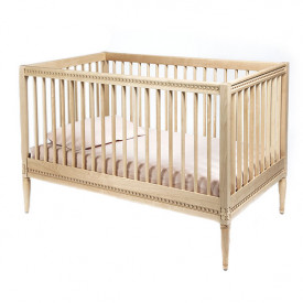 Crib with Mattress - Birch