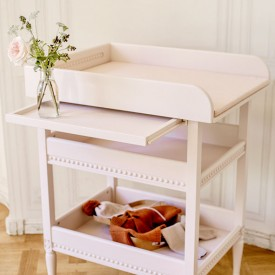 Changing table - Powder pink