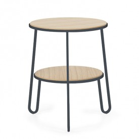 Side Table Anatole - Dark Grey