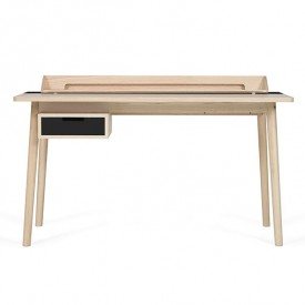 Honoré Desk - Oak & Anthracite