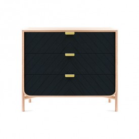 Chest of drawers Marius - Petrol Blue