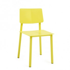 Rosalie Metal Chair - Lemon