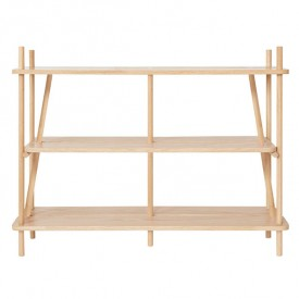 Bookcase Simone - Oak