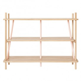 Bookcase Simone - Rose
