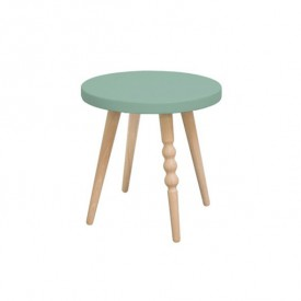 Stool 30 cm My Lovely Ballerine - Beech / Celadon Green