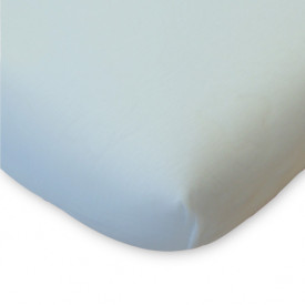 Organic Cotton Fitted Sheet - 70x140 - Light Blue