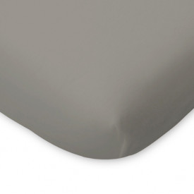 Fitted Sheet for Crib 60 x 120 - Grey