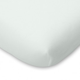 Organic Cotton Fitted Sheet - 90x140 - Pearl Grey