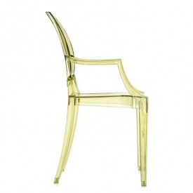 Louis Ghost Chair - Yellow - Display Model