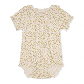 Chleo Short Sleeves Body - Buttercup Yellow