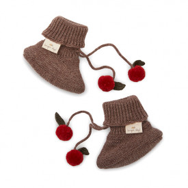 Miro Knit Boots - Bunny Brown