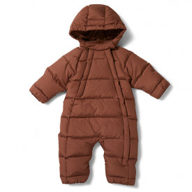 Baby Down Snowsuit - Mocca