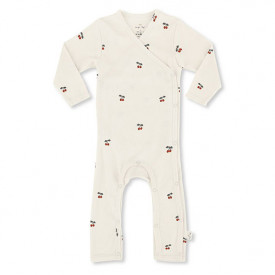 Newborn Onesie - Cherry
