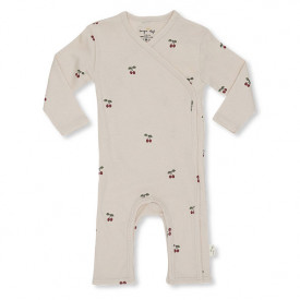 Newborn Onesie - Cherry/Blush