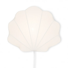 Wall Lamp Clam - White