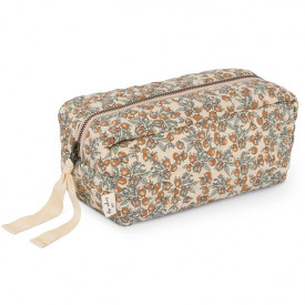 Quilted Toiletry Bag - Orangery Beige