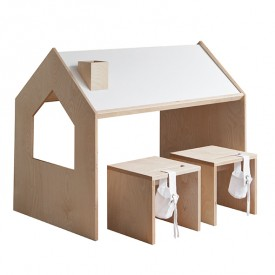 Roof Playhouse Desk