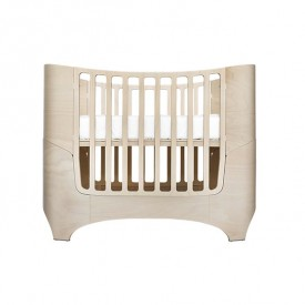 Convertible crib to junior bed 0-7 years old - White Wash