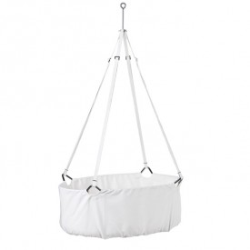 Classic Cradle incl. Mattress & Hook - White