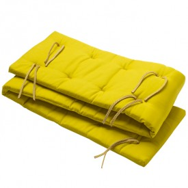 Linea Bed Bumper - Spicy Yellow