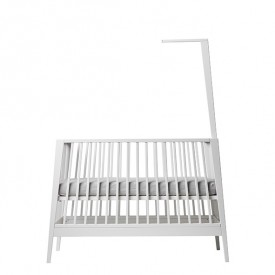 Canopy Stick for Linea Baby Cot - White