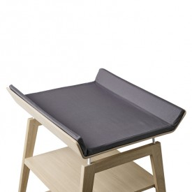 Linea Changing Mat Cover - Grey