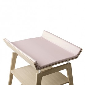 Linea Changing Mat Cover - Soft Pink