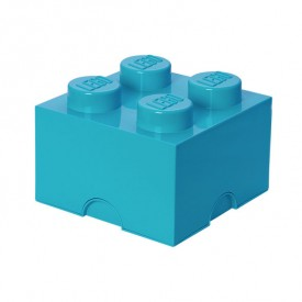 Lego Storage Box - 4 Studs - Blue