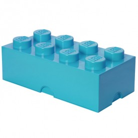 Lego Storage Box - 8 Studs - Blue