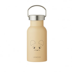 Water Bottle - Mouse Wheat Yellow