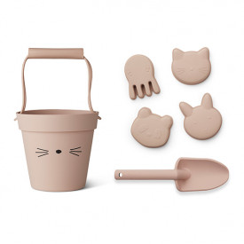 Silicone Beach Set Dante - Cat Rose