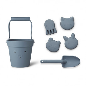 Silicone Beach Set Dante - Rabbit Blue