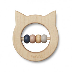 Wooden Teether - Cat