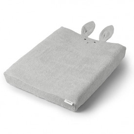 Changing Mat Cover Rabbit - Grey