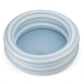 Leonore Pool - Stripes Blue/Creme
