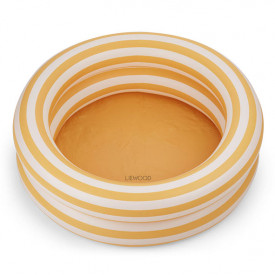 Leonore Pool - Stripes Yellow/Creme