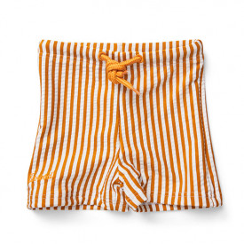 Otto Swim Pants - Stripes Mustard/White