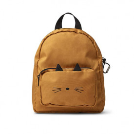Backpack - Cat Mustard