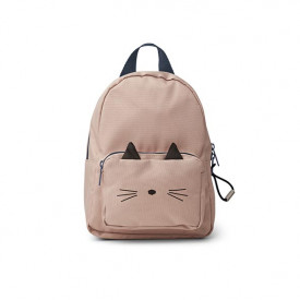 Mini Backpack - Cat Rose