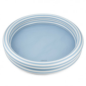 Savannah Pool - Stripes Blue/Creme
