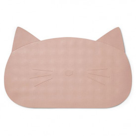Bathmat Cat - Rose