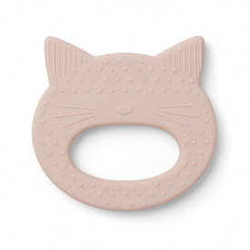 Silicone Teether Cat - Rose