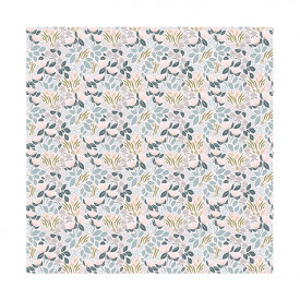 Wallpaper - Chic Flowers Soft Rose