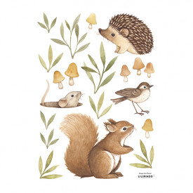 Wallstickers Little Forest Animals (A3)